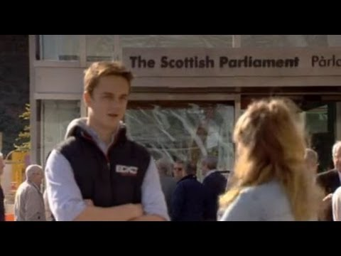 A group of Fixers from the Scottish borders are encouraging young people to become more involved with politics. This story was broadcast in October 2013.