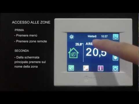 Utilizzo: Zone remote