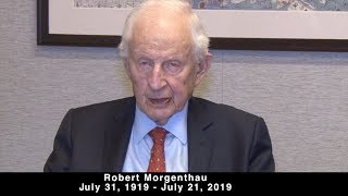 "Farewell Message of Robert Morgenthau to the Armenian People: ""Never Forget 1915"""