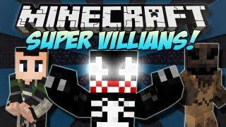 Minecraft | SUPER VILLAINS! (Venom, Loki&Scarecrow!) | Mod Showcase [1.4.7]