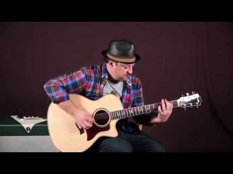 Acoustic Rock Guitar  Riff, taught slow so you can learn it FAST