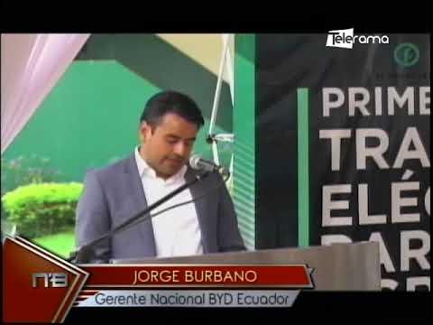 Azucarera Valdez incorpora primer tráiler eléctrico del país