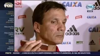 Entrevista coletiva com o técnico Zé Ricardo após jogo do Flamengo com o Santos pela Copa do Brasil