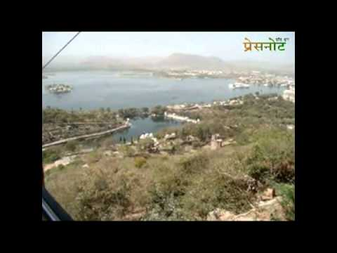 Bird eye view of Udaipur