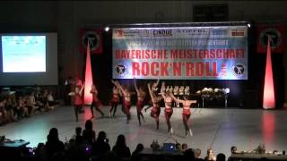 Formation Famous - Bayerische Meisterschaft 2014