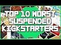 Top 10 Worst Suspended Games Suspended by Kickstarter