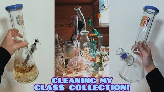 CLEANING GLASS!! (day in the life vlog) by Silenced Hippie