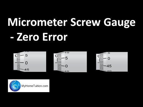 how to eliminate zero error in ammeter