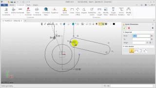 Sketcher ZW3D Tutorial How to easily manage Sketch Design