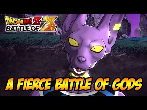 Dragon Ball Z: Battle of Z - PS3/X360/Vita - A Fierce Battle of Gods (trailer)