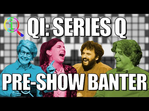 QI: Pre-show banter : Video 2019 :     Chortle : The UK Comedy Guide