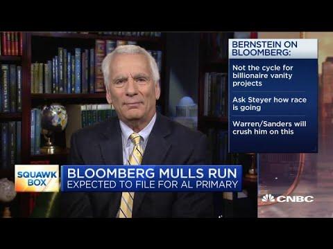 Bloomberg running for president makes no sense, former Biden advisor says