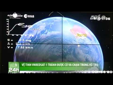 Vệ tinh VNREDSat-1 tránh được cú va chạm trong vũ trụ
