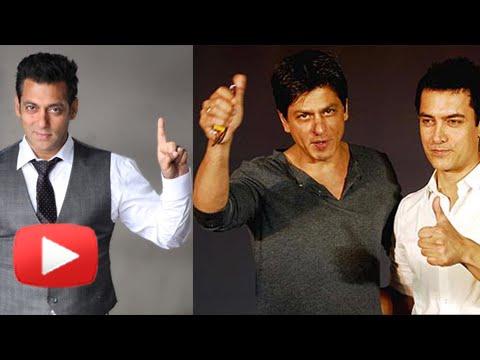 Salman Khan Thanks Shahrukh Khan And Aamir Khan