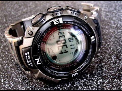 Мои EDC часы Casio PRW 1500T 7VER