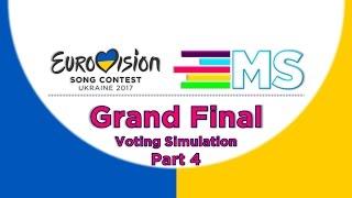 Video Eurovision 2017:Grand Final//Jury Voting Simulation(Part-4) MP3, 3GP, MP4, WEBM, AVI, FLV Agustus 2017