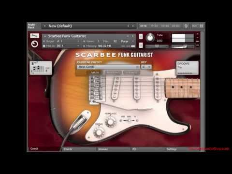 Custom Chord Patterns – Native Instruments Scarbee Funk Guitarist