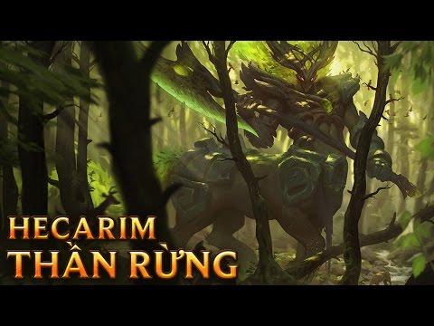 Hecarim Thần Rừng - Elderwood Hecarim