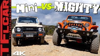 Big vs Small: Can a Suzuki Samurai Keep up with a Lifted Wrangler When the Going Gets Sketchy? by The Fast Lane Car