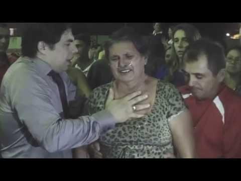 Quiteriense deixa balão de oxigênio em culto. Pastor Makiã em Varjota CE em 05.06.15