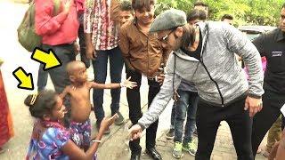 Video Beggar & Her Child Ask Ranveer Singh For Handshake.. What Ranveer Does Next Will Melt Ur Heart MP3, 3GP, MP4, WEBM, AVI, FLV Januari 2019