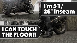 5. The Short Rider Perspective - Lowered ER6F vs Factory Low BMW F700GS