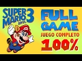 Super Mario Bros 3 Juego Completo Full Game 100