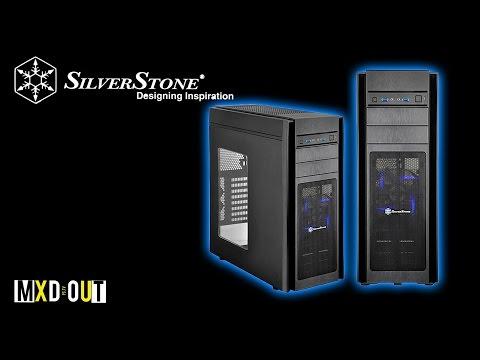 SilverStone Kublai KL05B-Q High Quality ATX Tower Case (Black)