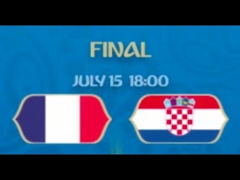 Who Will Win the 2018 World Cup? FIFA 18 France vs. Croatia Simulation