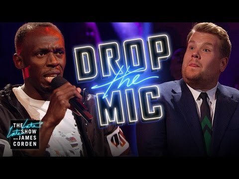 Usain Bolt vs James Corden Rap Battle