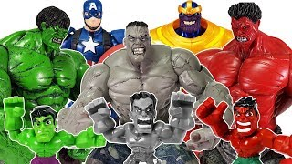 Video Thanos appeared with Red & Gray Hulk, Go Avengers~! Spider Man, Thor, Iron Man, Captain America MP3, 3GP, MP4, WEBM, AVI, FLV November 2018