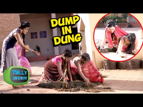 Thapki's Sister-In-Laws Fall in Buffalo Dung   Tha