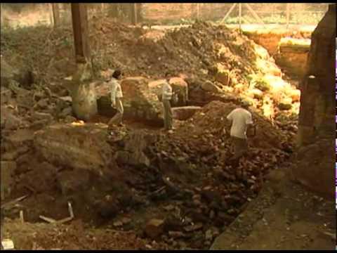 Peças de grupos indígenas são encontradas em escavações no Engenho Central