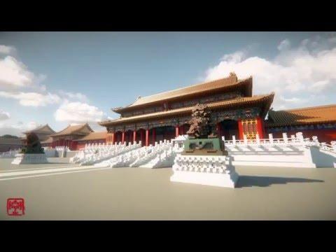 超級狂人用1億方塊在《當個創世神》中建造紫禁城,網友:「大神請收下我的膝蓋!」