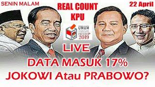 Video Malam ini 17% Masuk! Jokowi Atau Prabowo? REAL COUNT KPU Pusat Hitung Suara Pilpres 2019 | Senin MP3, 3GP, MP4, WEBM, AVI, FLV April 2019