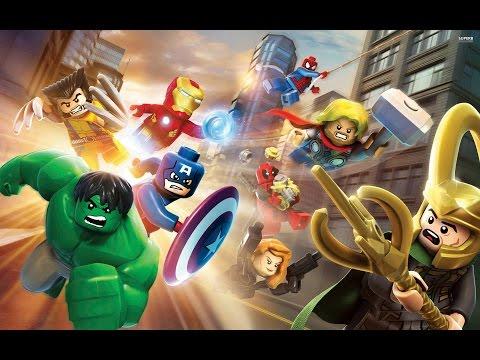 игра мультик Лего супер герои марвел человек паук и друзья продвигаются дальше # 1 лучшие игры HD