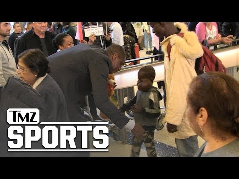 Dikembe Mutombo Flies 8-Yr-Old Boy w/ Large Tumor to U.S. for Surgery | TMZ Sports