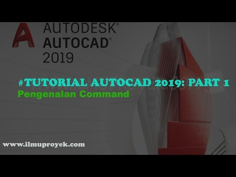 Tutorial Dasar Autocad 2019 (Part 1)