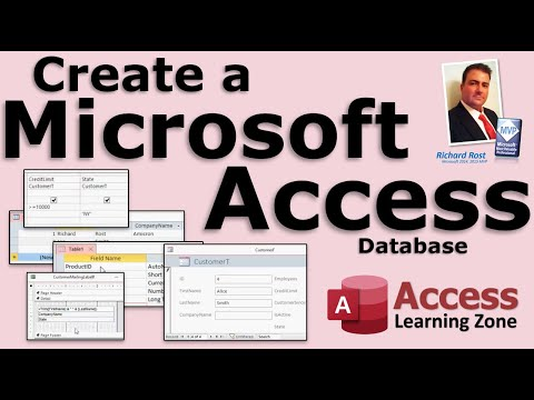 Access - In this beginner Microsoft Access video tutorial, you will learn how to create your first database in Access 2013. You will build a customer table, query, fo...