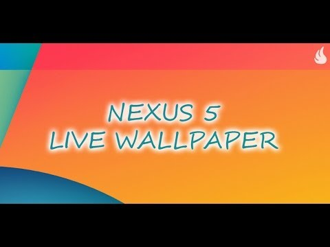 Video of Nexus 5 Live Wallpaper