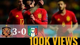 Video Spain vs Italy 3-0 world cup qualifiers 2018 higlights MP3, 3GP, MP4, WEBM, AVI, FLV Oktober 2017