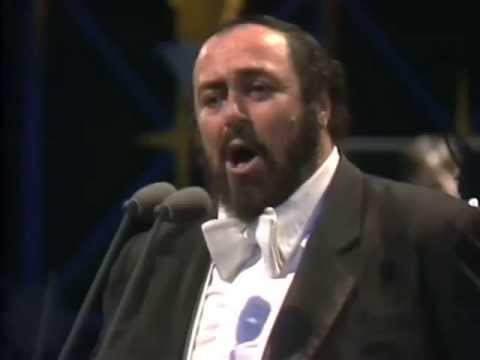 Luciano Pavarotti: 'O Sole Mio'