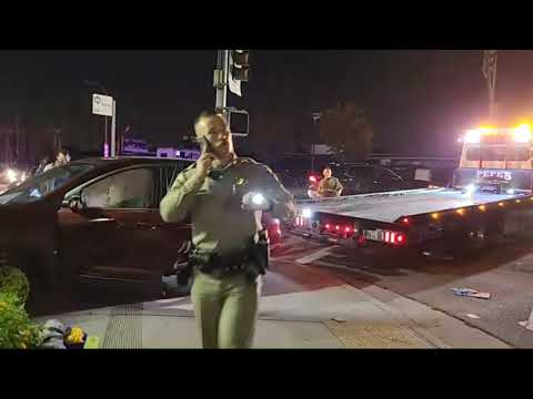 Live on the streets of LA with PedoLibreAudits (WE DRIVE THRU A CHECKPOINT)