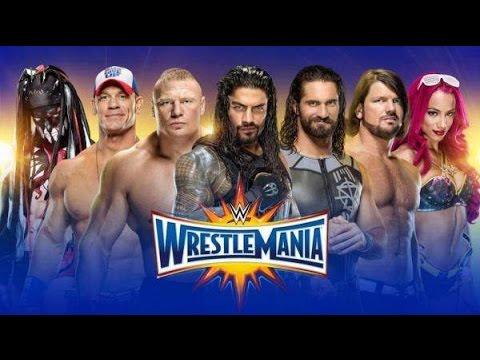WWE WRESTLEMANIA 33 PREDICTIONS -TOP 10