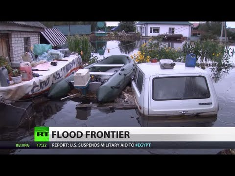 Russia's - One of the biggest cities and business hubs in Russia's Far East is in danger of being swamped by the most-powerful flood the region has seen in more than a ...