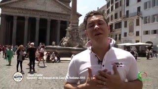 Oscar Patiño, ganador del año 2015 desde Roma
