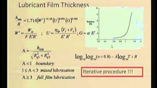 Mod-06 Lec-37 Friction And Lubrication Of Gears(contd)