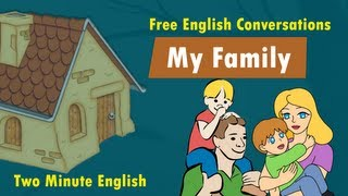 My Family - Family Vocabulary - English Words For Family Members