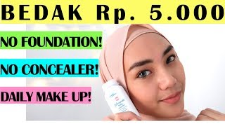 Download Video CUMA BEDAK BAYI ?! | TUTORIAL MAKE UP NATURAL UNTUK PEMULA | Low Budget Make Up | Daily Make Up MP3 3GP MP4