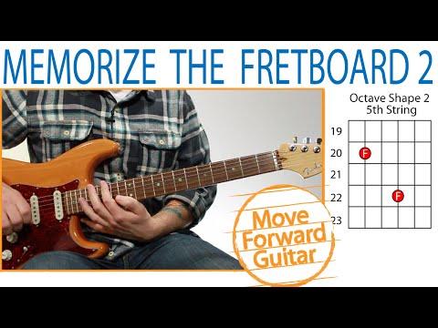 Memorize Guitar Notes Lesson 2 – Octave Shapes